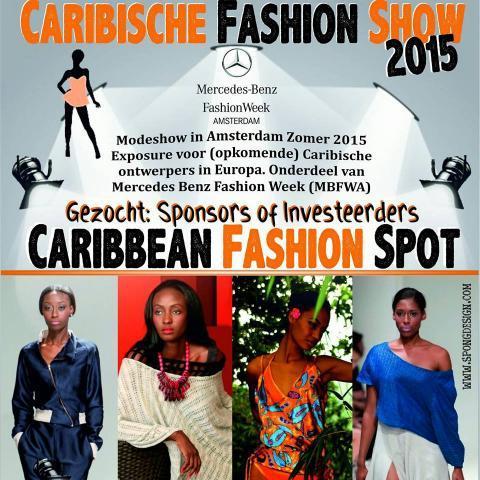 Caribische Modeshow Afro Magazine