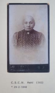 Christiana Hehl, kleindochter van Cupido. Foto AM Minnaard Fotografie