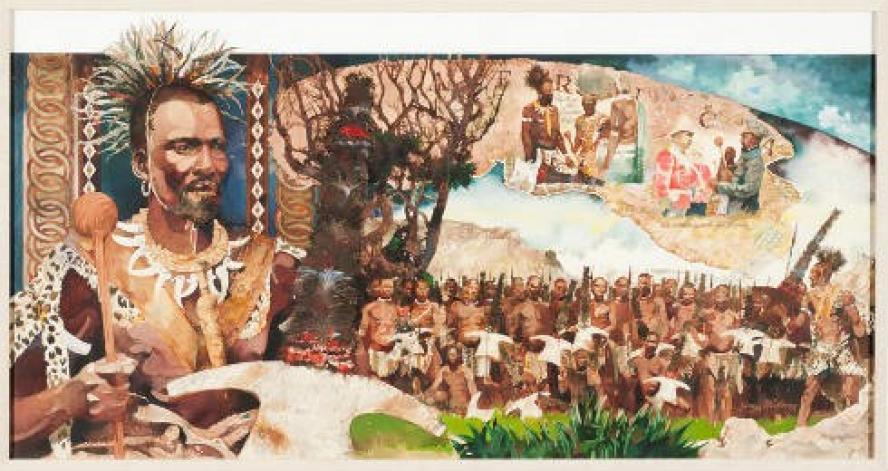 Moshoeshoe King of Batsutoland (circa 1786-1870)