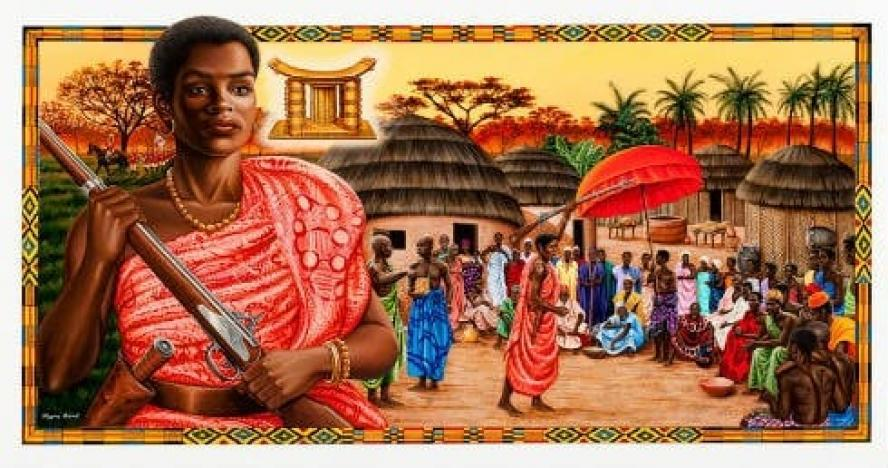 Yaa Asantewa Queen of Ghana (1863-1923)