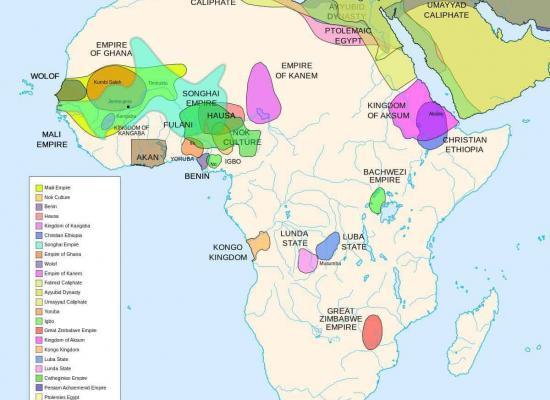 Pre-Koloniale Koninkrijken en Grootmachten in Afrika
