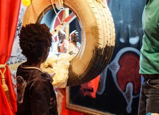 Bezoekers bij Tronie van Sideron. Foto: A.M. Minnaard Fotografie